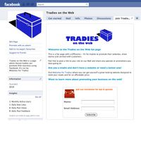 tradies on web facebook