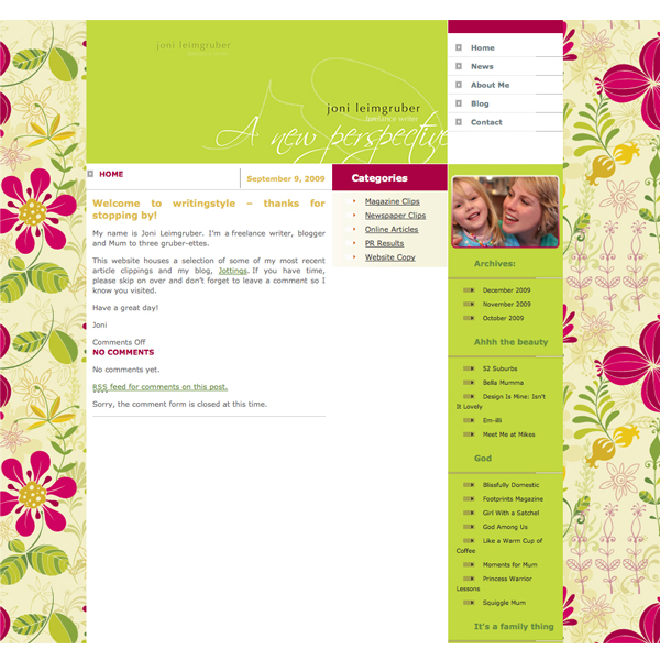 Google Sitemap Example: Blog Examples (Sauced Out Websites And Print Design