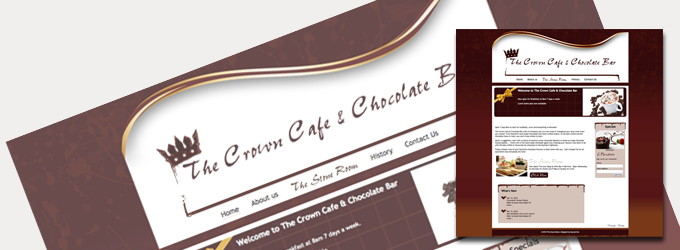 crown chocolate bar
